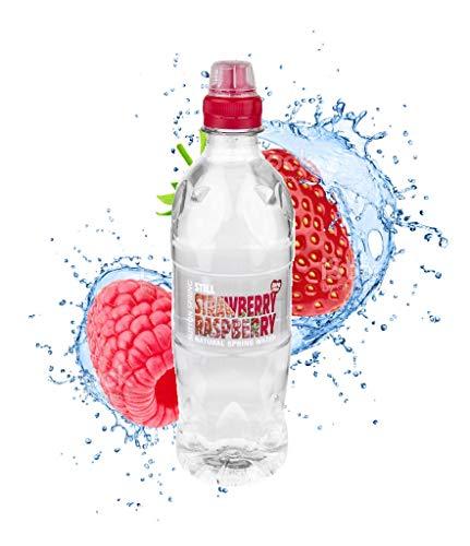 Still Natural Spring Water Strawberry & Raspberry Flavour Zero Sugar 12 x 500ml
