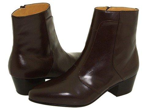 Giorgio Brutini Calloway (Dark Brown) Men's Dress Zip Boots