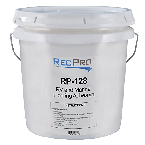 RecPro Gallon Roll On Floor Glue | Marine (Boat) Grade Roll On Floor Glue | RV Floor Glue (1 Pack)