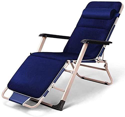 Leichte Lounge Chair Liegen Klappliege, Zero Gravity Klapp Liege mit Armlehnen ForIndoor Nap Lazy Freizeitstuhl OutdoorTravel Beach Camping Deck Schrägstuhl
