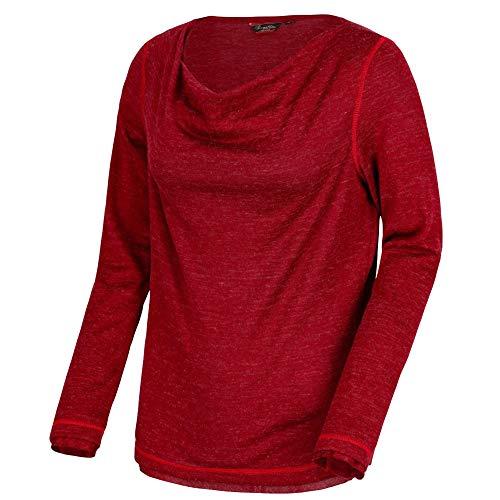Regatta Womens/Ladies Frayda Lightweight Wool Cowl Neck Longsleeve Top