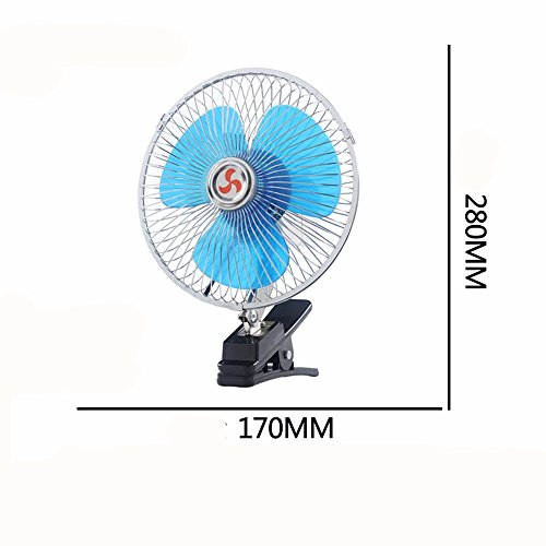 JISHUQICHEFUWU Ventilateur 6 Pouces 12 V Ventilateur/Voiture/pièces Auto/Fournitures été