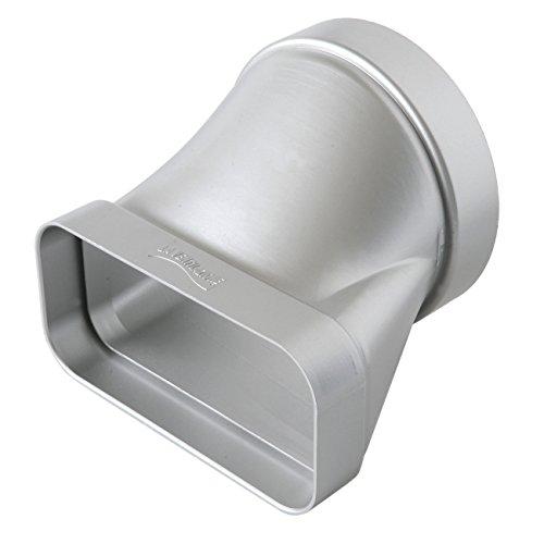 La ventilación cgo157ac-y Junta Horizontal de ABS para ventilación canalizzata, cromado satinado, 125Mm-150X 70Mm