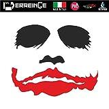 erreinge Sticker PRESPAZIATO 12cm - The Joker Batman - Adesivo Decal Decalcolmania Vinile Murale Laptop Auto Moto Casco Camper