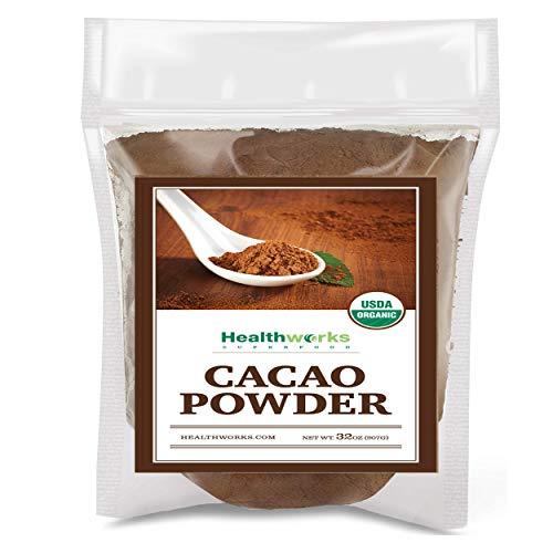 Healthworks Cacao Powder Organic, 2lb