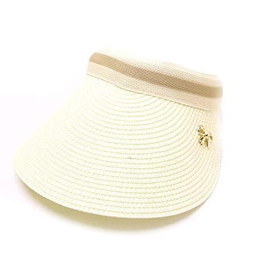 QOHNK Gorra de béisbol de Moda Gorras de Visera Protección Solar Mujer...