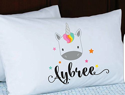 Personalized Pillow Case Girls or Boys, Birthday Party Gift