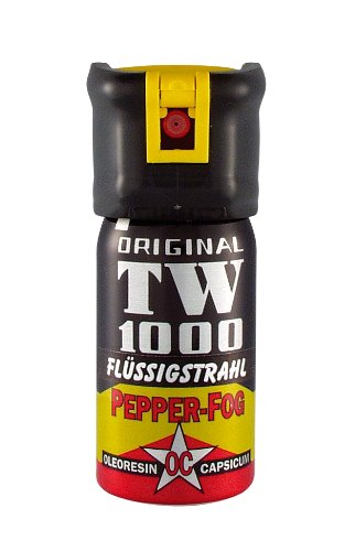 Pfefferspray TW1000 40 ml Flüssigstrahl - Abwehrspray