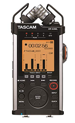 TASCAMリニアPCMレコーダーハイレゾ/Wi-Fi接続対応4TRDR-44WL