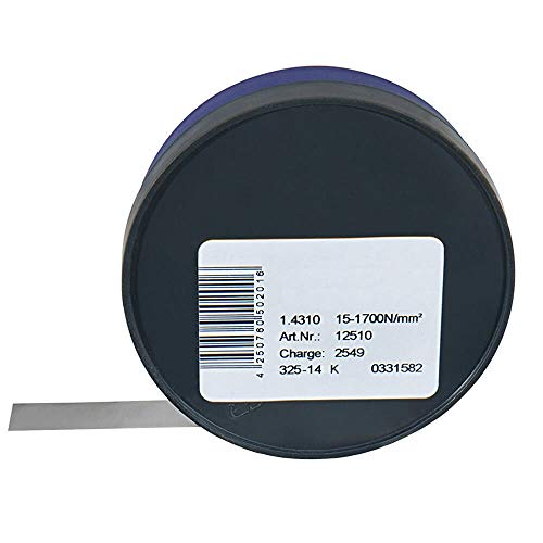 Fühlerlehrenband (1.4310) 0,01 x 12,7 mm Länge [m] 5 m