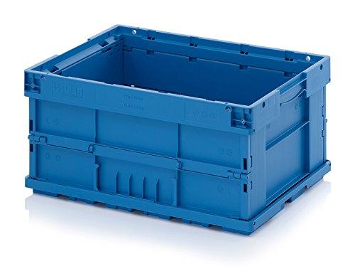 Faltbox Klappbox KLT Behälter 60x40x28 cm Verbundboden geschlossen