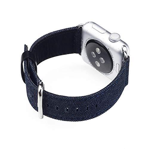 Compatible con Apple Watch Series Correa 38 mm 40 mm 42 mm 44 mm, Pulsera de Repuesto de Bucle de Malla de Acero Inoxidable Compatible con iWatch Series 6 5 4 3 2 1,38mm/40mm