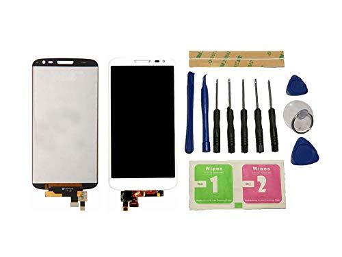 Flügel para LG G2 Mini D620 D618 Pantalla LCD Pantalla Blanca táctil digitalizador (sin Marco) de Repuesto y Herramientas gratuitas