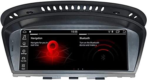 Navegación GPS para B M W Serie Antigua 3 5 E60 E61 E63 E90 (2007-2010) Android 9.0 Coche Estéreo Estéreo Pantalla Estéreo Multimedia Player 8'