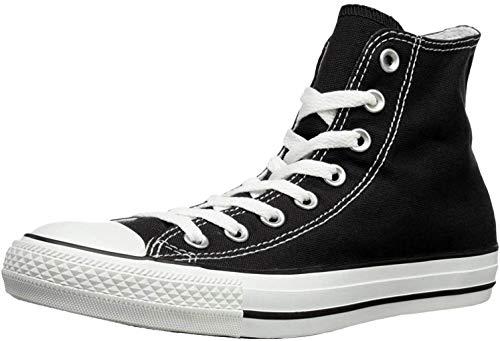 Converse Chuck Taylor All Star Hi, Sneaker Unisex – Adulto, Nero/Bianco (Black), 43 EU
