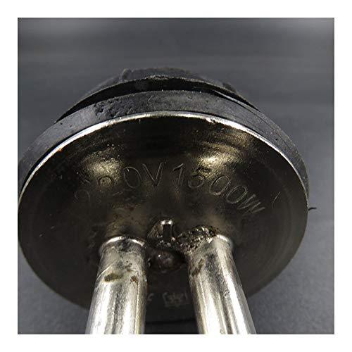 MXQIN 220v 1500w eléctrico tubo de la calefacción anti-seca partes de la caldera Protección de elemento calentador de agua eléctrico del acero inoxidable -Proper replacement of parts can make your hot