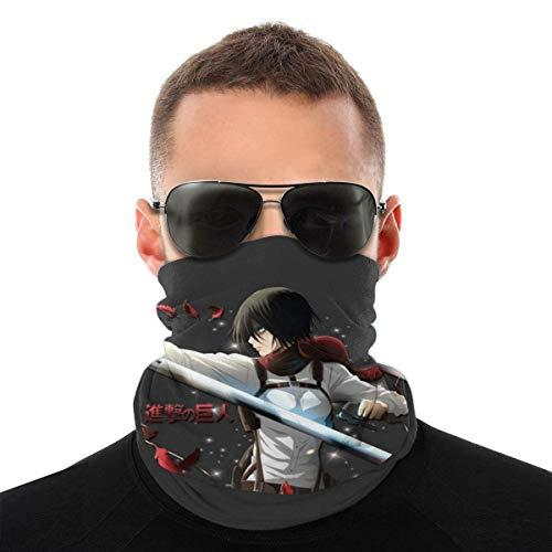 OMarcus Angriff auf Titan Mikasa Odm Gear Variety Kopfbedeckung Halsmanschette Gesicht Bandana Schal mit 6 Filtern