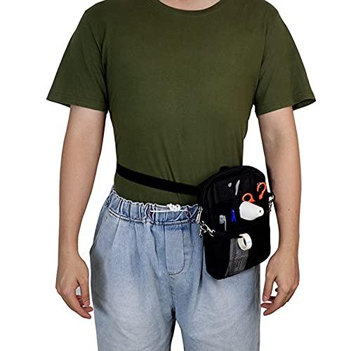 WANGXNCase Cinturón Organizador para Enfermeras - Riñonera Organizador de múltiples Compartimentos para Enfermeras Bolsas de enfermería Riñonera