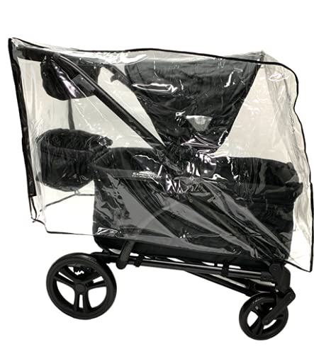 Sasha's Rain and Wind Cover for The Baby Trend Expedition 2-in-1 Stroller Wagon Plus