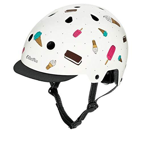 Electra Bicycle Electra Fahrrad Helm Solid Attitude Fashion Serie, EHelm, Farbe Soft Serve, Größe S