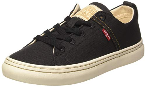 Levis Global Vulca-Low_s, Zapatillas para Mujer, Negro (R Black 59), 41 EU