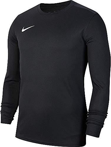Nike Kinder Long Sleeved T-Shirt Y NK Dry Park VII JSY LS, Black/White, XL, BV6740