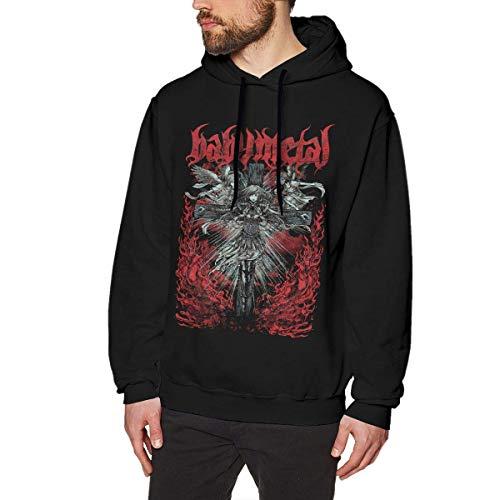 AKKUI Hooded Sweat Herren Kapuzenpullover CristieVSlade Babymetal Mens Hoodies Long Sleeve T-Shirt Pullover Hooded Sweatshirt