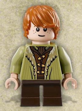 Lego The Hobbit Minifigur Bain son of Bard aus 79016 (lor100)