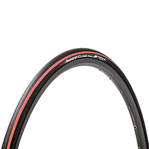 パナレーサー(Panaracer) クリンチャー タイヤ [700×25C] クローザープラス F725-CLSP-R ブラック/赤ライン...