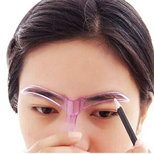 Zonster modèle de Moule Sourcils Outils de beauté Professionnelle modèle de Dessin de beauté Maquillage, des Couleurs aléatoires