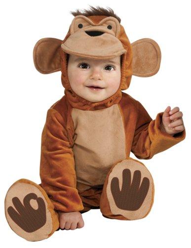 Rubies - Disfraz de mono chimpancé para niño, talla bebé 1-2 años (S8321) , color/modelo surtido