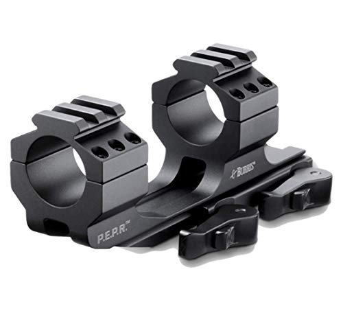 Burris Optics P.E.P.R. Scope Mount, Includes Both Smooth and Picatinny Ring Tops, 1 Inch, Quick Release