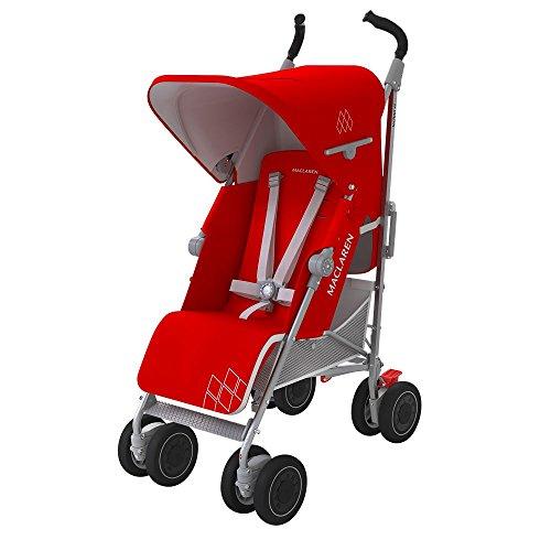 Maclaren Techno XT - Silla de paseo, color Cardinal/plata