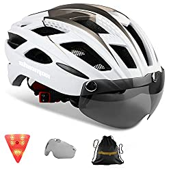 cheap Shinmax Bicycle Helmet for Adults, Bicycle Helmet CPSC / CE Safety Standard Bicycle / Climbing Helmet / MTB / BMX…