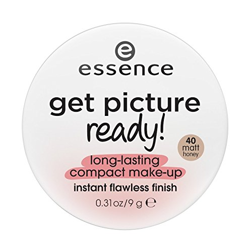 essence - Foundation - get picture ready long-lasting compact make-up - 40 matt honey