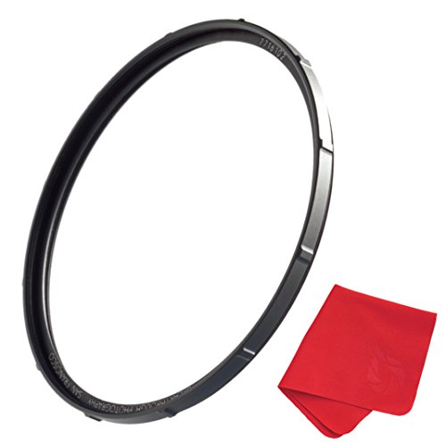 52mm X1 UV Filter for Camera Lenses - Ultraviolet Protection Photography Filter with Lens Cloth - MRC4, Ultra-Slim, 25 Year Support, Weather-Sealed by Breakthrough Photography