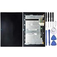Fulvit for ソニーのXperiaタブレットZ / SGP311 / SGP312 / SGP321(ブラック)修理部品のLCDディスプレイ+タッチパネル (Color : Black)