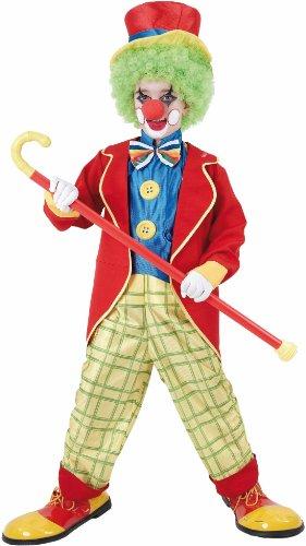 Party Pro Deguisement Carnaval : Costume Banjo Le Clown Taille : 7/9 ans (120 à 132 cm)