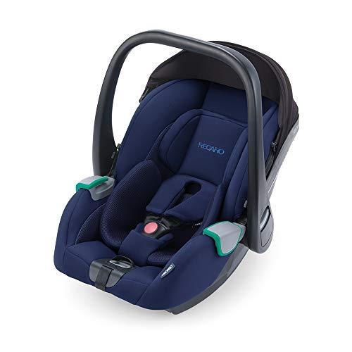 RECARO Kids, Babyschale Avan, i-Size 40-83 cm, Babyschale 0-13 kg, Kompatibel mit der Avan/Kio Base (i-Size), Verwendung mit Kinderwagen, Einfache Installation, Hohe Sicherheit, Select Pacific Blue