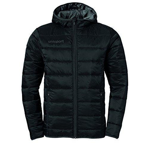 uhlsport Kinder Essential Ultra Lite Jacke, Schwarz/Anthrazit, 164
