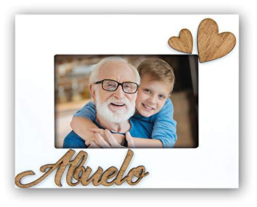 ZEP S.r.l. Abuelo Marco de Madera, Blanco, Für Bildformat 10 x 15 cm