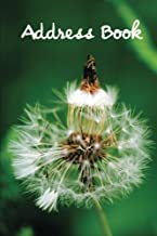 Address Book.: (Flower Edition Vol. C14) Glossy And Soft Cover, Large Print, Font, 6