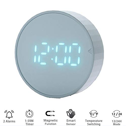 LED-Digital-Küche-Timer, Kochen Study Stoppuhr Wecker Magnetic Elektronisches Kochen Countdown-Zeit Timer,A