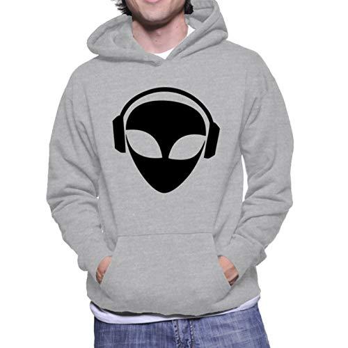 Moletom Criativa Urbana Et Alien DJ Cinza P
