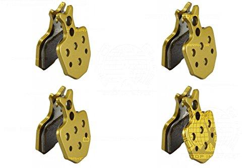4 paires Formula Oro fritté plaquettes de frein à disque Compatible Vélo Puro K24 K18 Bianco