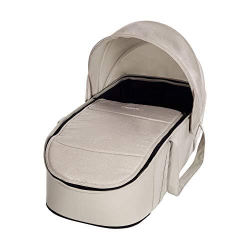 Maxi-Cosi 1502332300 Laika - bequem gepolsterte und geräumige Kinderwagenaufsatz ab Geburt verwendbar, Nomad beige