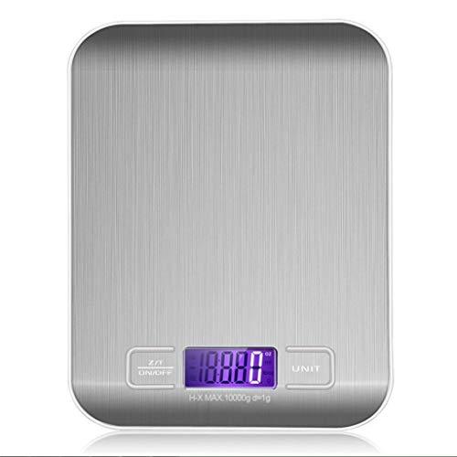 Huishoudweegschaal, 5 kg/10 kg, stroomvoorziening voor postal, weegschaal, meetgereedschap, LCD-weegschaal, digitale weegschaal, elektronische weegschaal, personenweegschaal