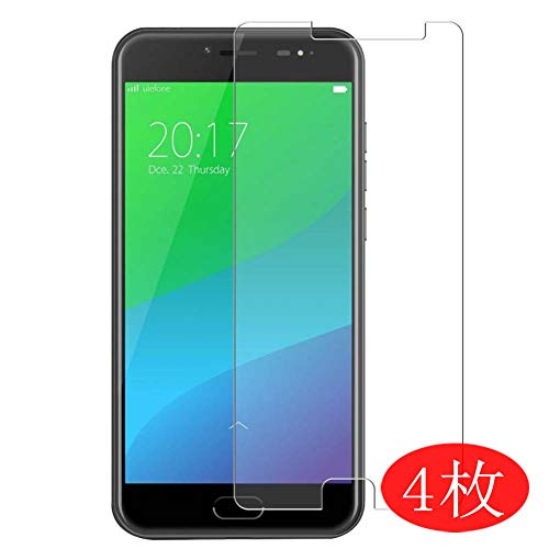 【4 Pack】 Synvy Screen Protector for Ulefone Gemini/Gemini pro 0.14mm TPU Flexible HD Clear Case-Friendly Film Protective Protectors [Not Tempered Glass] New Version