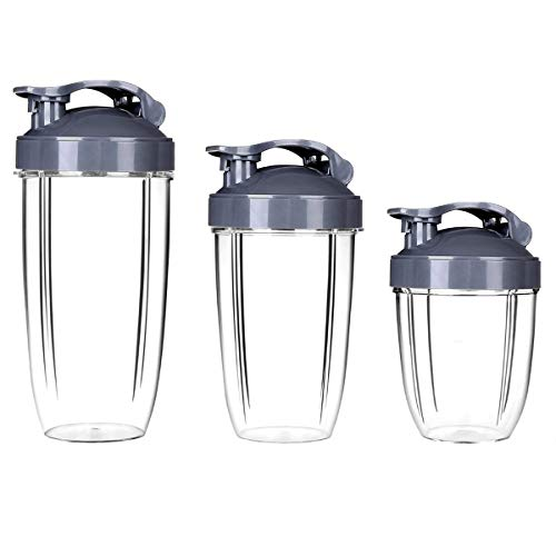 Nutribullet 3 piezas de tazas Nutribullet 18 oz + 24 oz +...