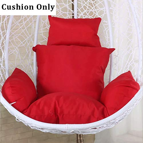 Coussins assise rouge